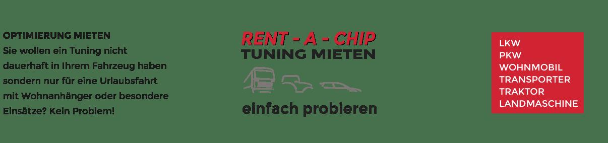 Rent-a-chip Tuning mieten