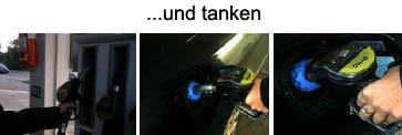 Automatischer Tankdeckel - Schnelltankdeckel